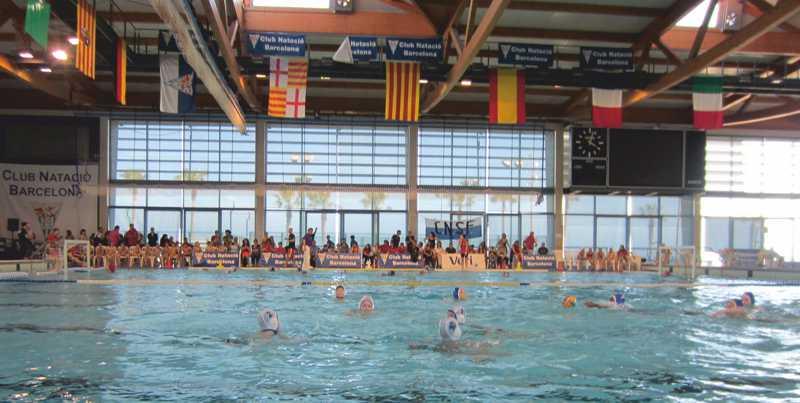 Wasserball-Minis beim U10-Turnier in Barcelona