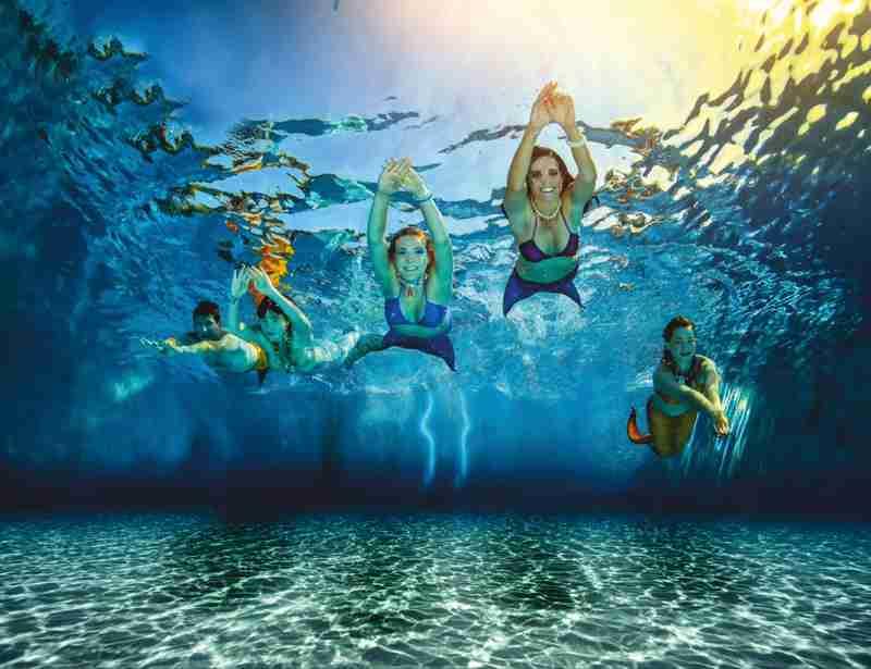 Meerjungfrauen und Wassermänner