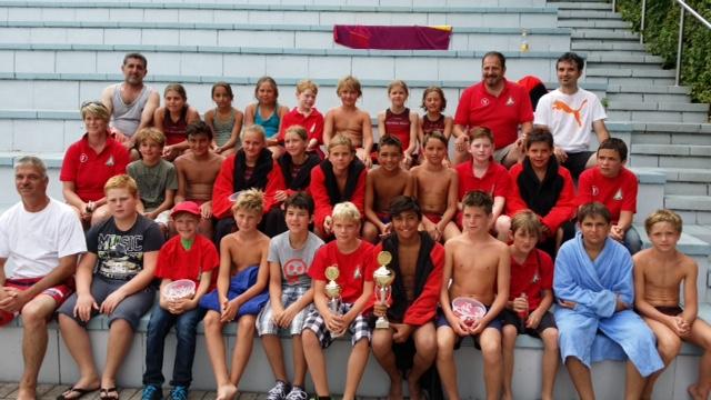 SSVE-Wasserball-Minis mit viel Spaß beim Erwin-Rössle-Turnier