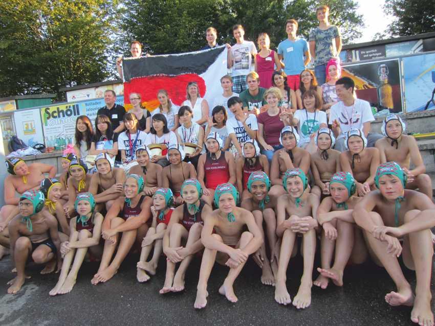 Gäste aus Japan im Schwimmsportverein
