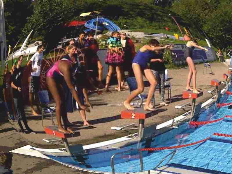 Beginn Schwimmtraining