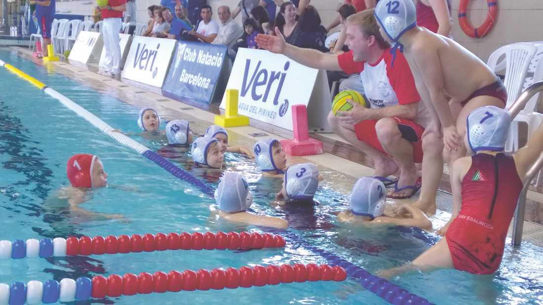 Wasserball-Minis beim BCNWP U10-Turnier in Barcelona
