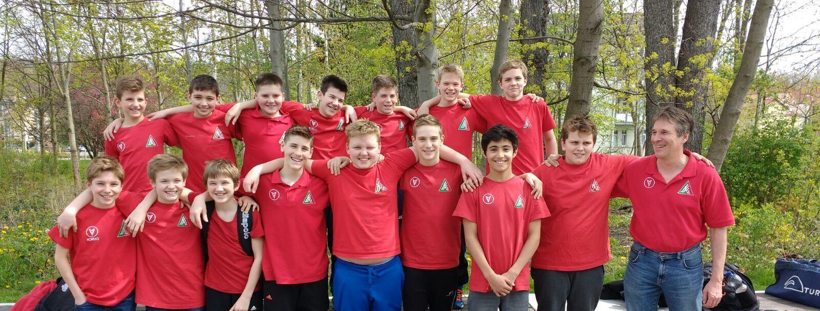 U13 qualifiziert sich für DSV-Pokal-Endrunde