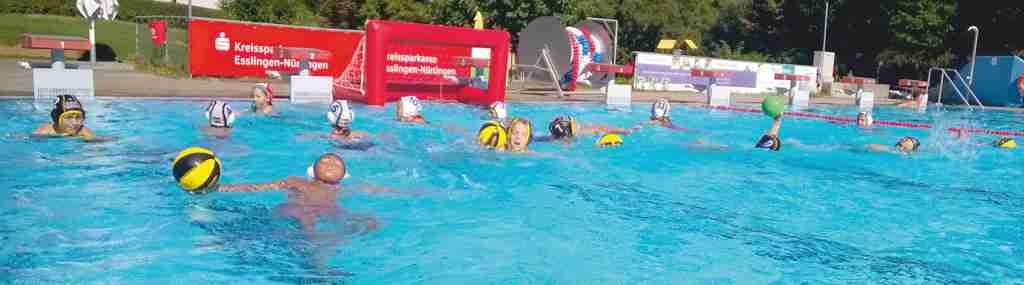 U11-Wasserball-Minis bei Süddeutscher Meisterschaft