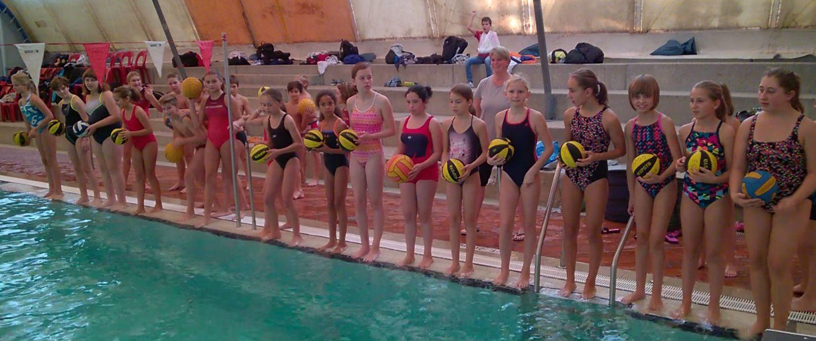 Girls Day beim Wasserball – Camp Herbst 2016