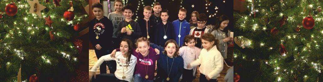 Weihnachtsfeier der SSVE Schwimmer-Minis und Wasserball-Minis