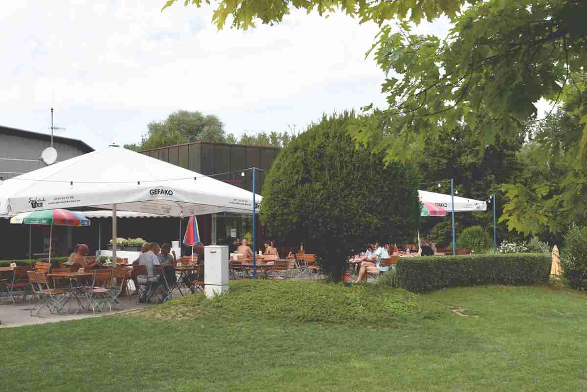 Zu verpachten: Gastronomie im SSVE-Clubhaus mit grosser Terrasse