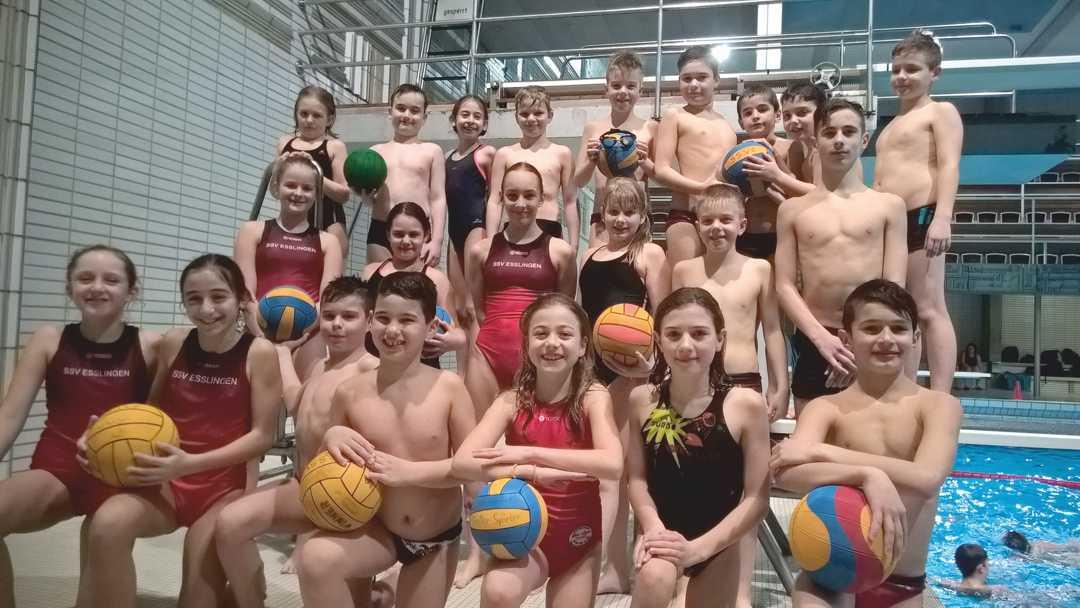 Saisonstart 2017 für U11-Wasserball-Minis
