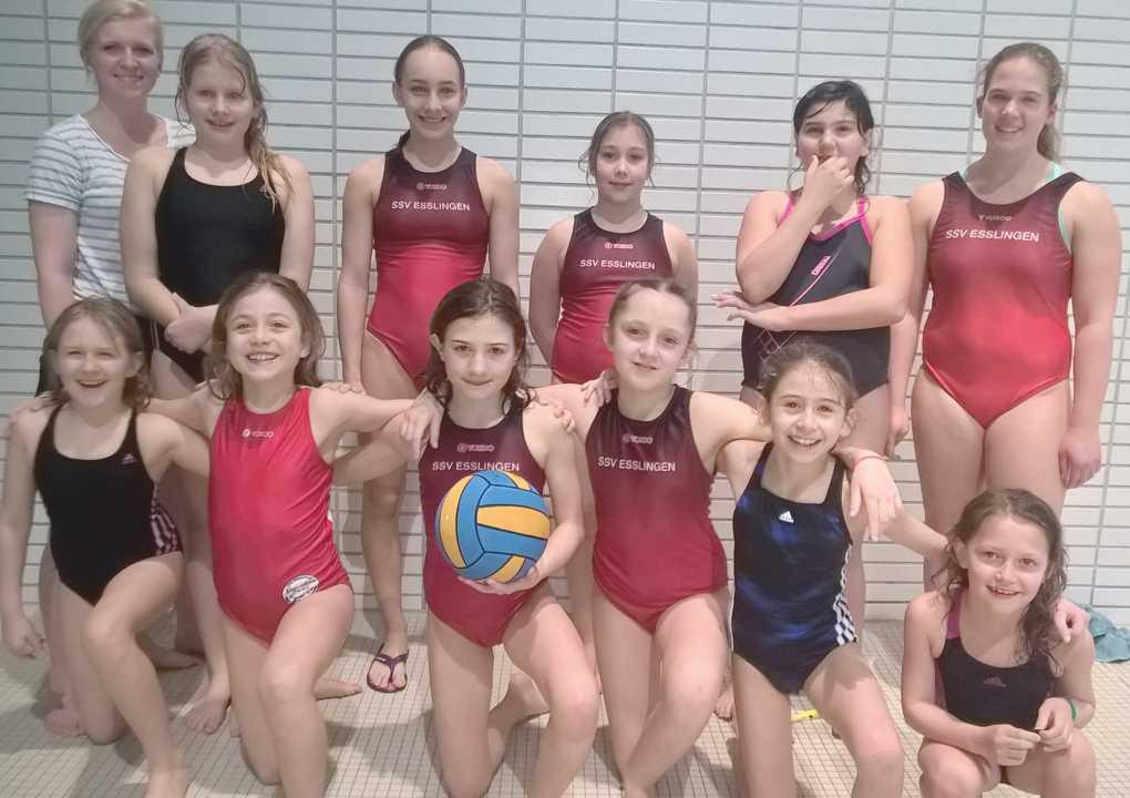 Erstes U11-Mädchen-Team in offizieller Spielrunde