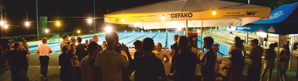 Sommerfest im Freibad des SSV Esslingen am 1. Juli