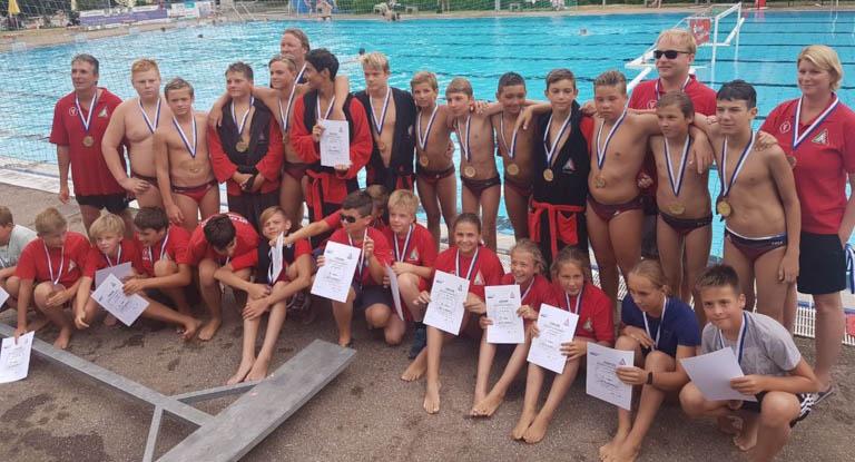SSVE-U13 holt Gold bei der Süddeutschen Meisterschaft – und Bronze!