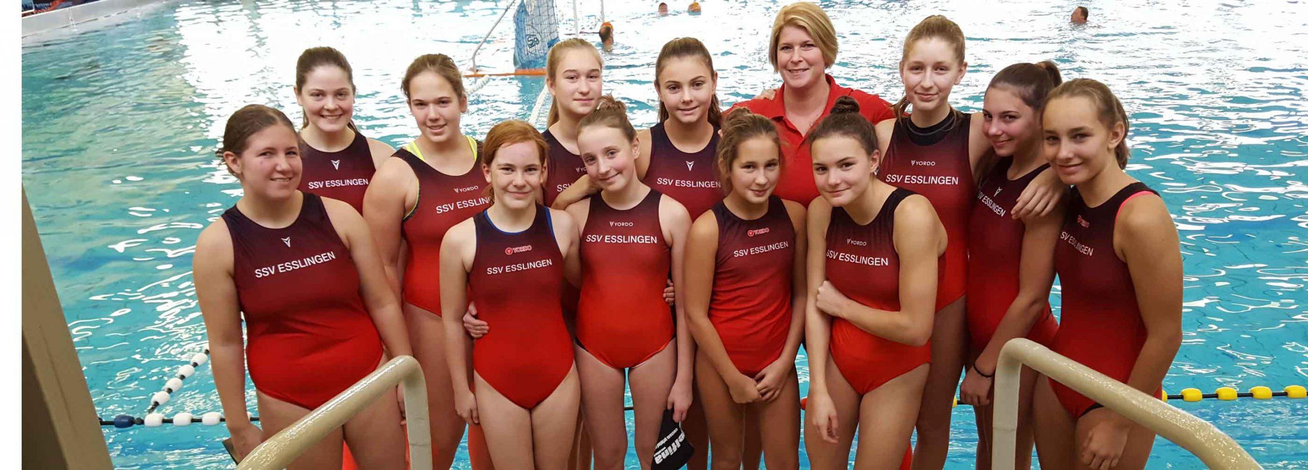 SSVE-U15-Mädels erkämpfen Platz 5 bei der Deutschen Meisterschaft