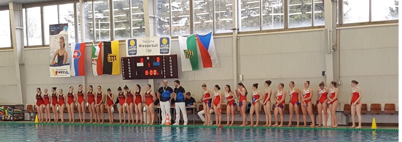 SSVE U16-Mädels beim 3. Internationalen Delfina-Cup