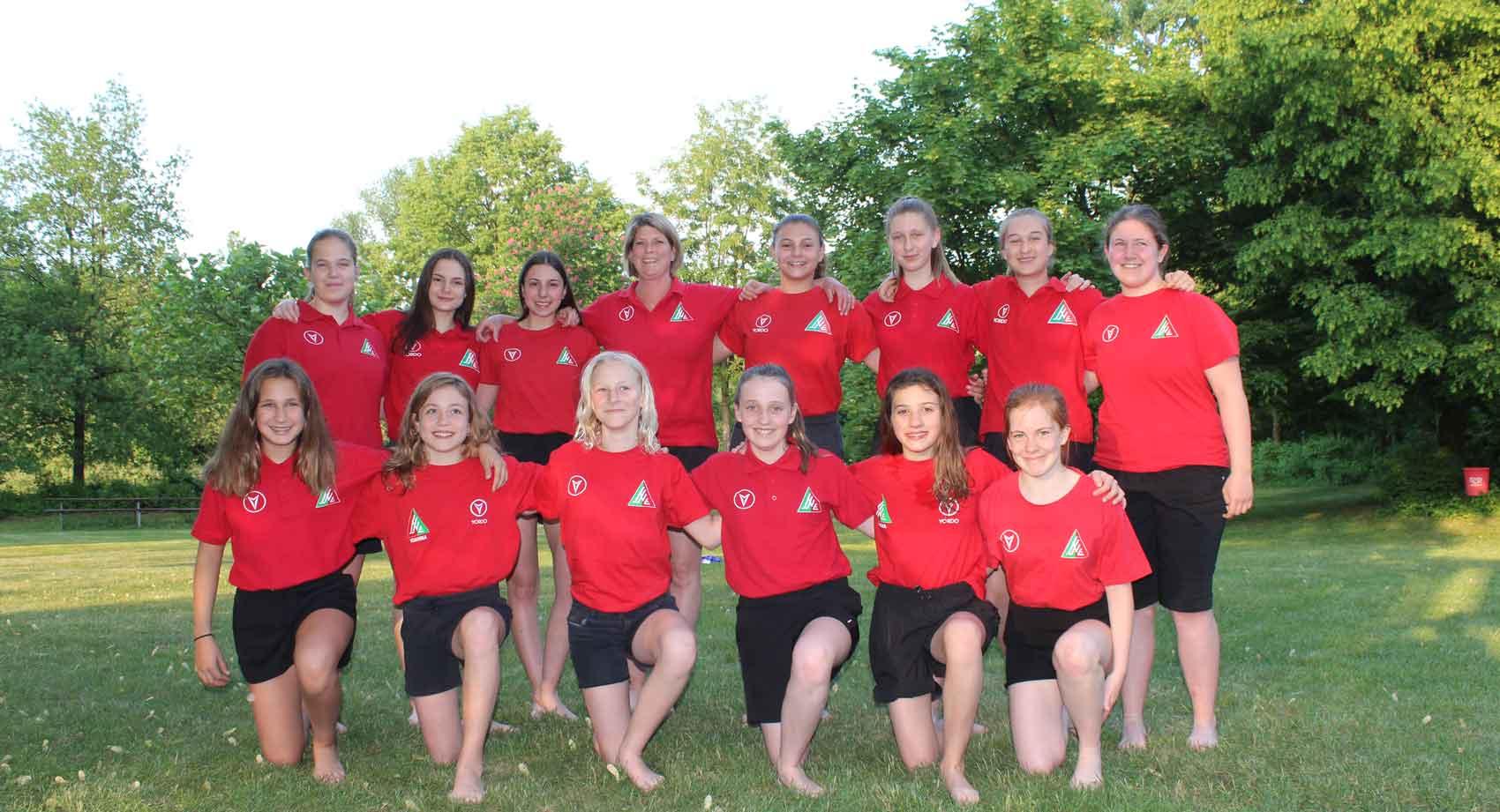 Deutsche Pokalmeisterschaft der weiblichen U16 in Esslingen