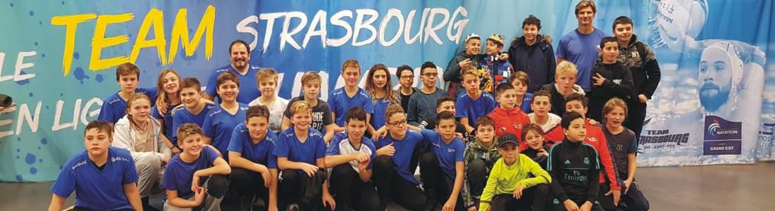 SSVE Wasserballer/-innen mit U13 Team Baden-Württemberg in Straßburg