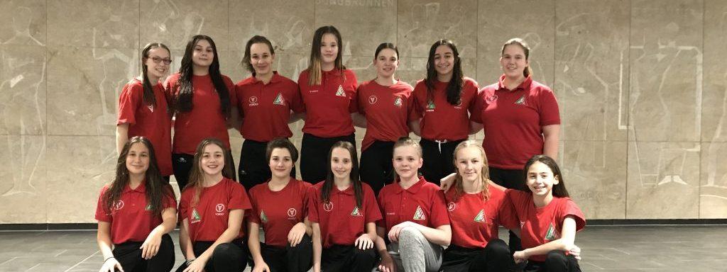 U16 Mädchen starten erfolgreich ins neue Jahr