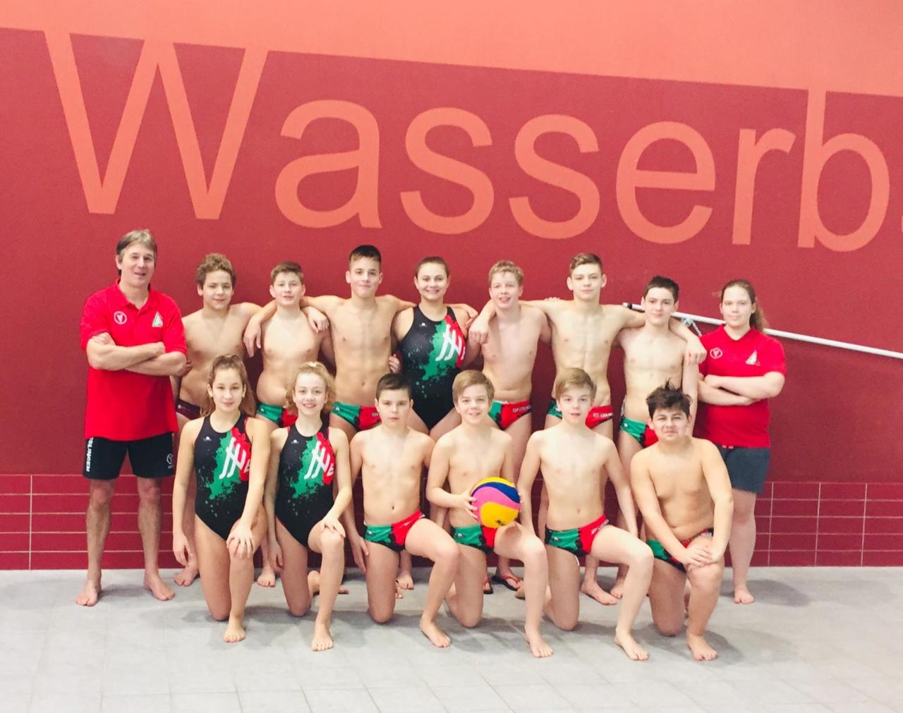 SSVE-U14 erreicht souverän das Finale im Deutschen Pokal