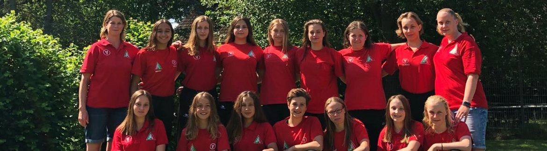 5. Platz für U16 Mädchen bei der DM in Hamburg