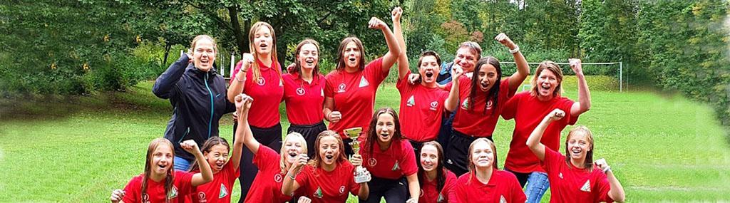 Historischer Sieg: SSVE-U14-Mädels sind Deutscher Pokalmeister